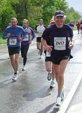 Bericht vom Regensburg Marathon 2005